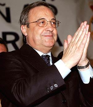 Florentino Pérez, ex presidente del Real Madrid. (Foto: EFE)