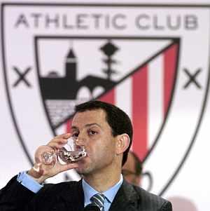 Fernando Lamikiz, durante la rueda de prensa. (Foto: EFE)
