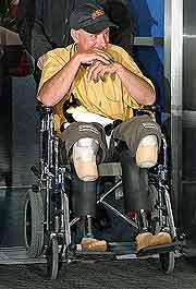 El doble amputado Mark Inglis fue uno de los que pasó al lado de David Sharp mientras agonizaba. (Foto: REUTERS)