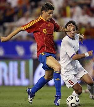 Torres tuvo las mejores ocasiones de España. (Foto: EFE)