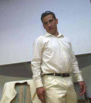 Jesús Manzano, este lunes, en el Foro Pedro Ferrándiz. (Foto: JULIO PALOMAR)