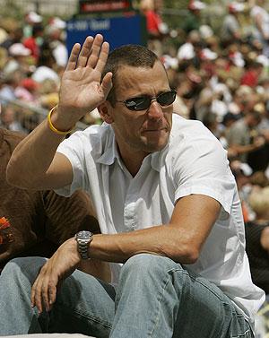El ciclista estadounidense Lance Armstrong. (Foto: AP)