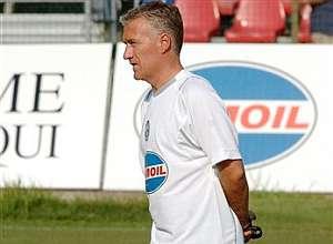 Deschamps dirige su primer entrenamiento de la 'Juve'. (Foto: AP)