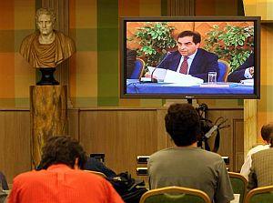 Piero Sanduli durante la lectura del veredicto. (Foto: AP)
