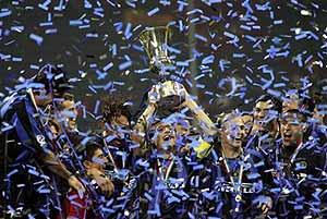 El Inter fue campeón de la Copa de Italia este año (Imagen de archivo)