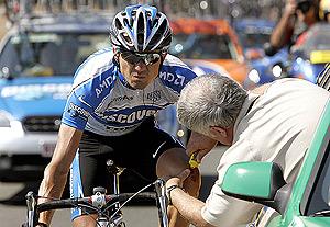 'Triqui' Beltrán, en la Vuelta a Burgos de 2005. (Foto: EFE)