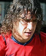 Carles Puyol. (Foto: EFE)