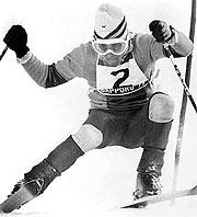 Paquito, durante el eslalon especial de Sapporo'72. (Foto: EFE)