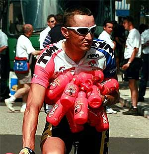 Skibby, en el Tour de 1997.