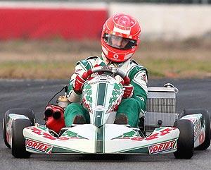 El piloto alemán durante una competición en Italia. (Foto: EFE)