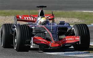 McLaren está entrenando en Jerez. (Foto: AP)