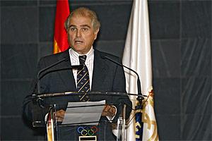 Calderón, presidente del Real Madrid. (Foto: EFE)