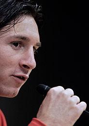 Leo Messi. (AP)