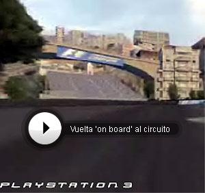 Vuelta virtual a Mónaco comentada por De la Rosa.