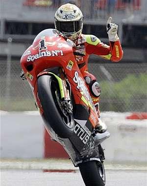 Lorenzo festeja la 'pole' con la vuelta más rapida de su vida según sus palabras. (Foto: EFE)