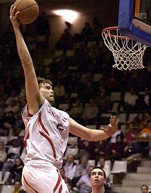 Marc Gasol, peso interior para los Lakers. (Foto: EFE)