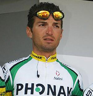 Marco Fertonani, durante su etapa en Phonak. (Foto: cyclismag.com)