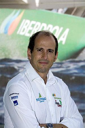 Agustín Zulueta, director técnico-deportivo del Desafío Español. (Foto: Nico Martínez)