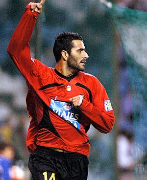 El delantero del Mallorca y de la selección española Dani Güiza. (Foto:EFE)