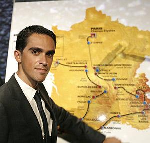 Contador apunta al Tour 2008. (Foto: REUTERS)