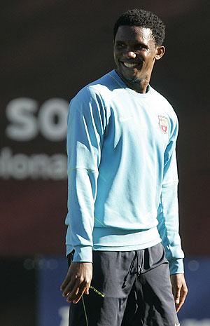 Samuel Eto'o. (Foto: AFP)