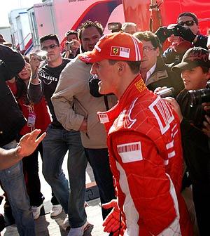 Michel Schumacher. (Foto: AFP)