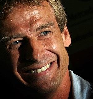 Jürgen Klinsmann. (Foto: REUTERS)