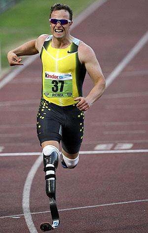Oscar Pistorius. (Foto: AFP)