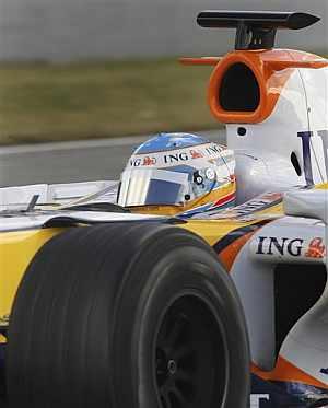 Fernando Alonso. (AP)