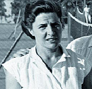 Pepa Riba en su etapa como tenista. (Foto: www.fctennis.cat)