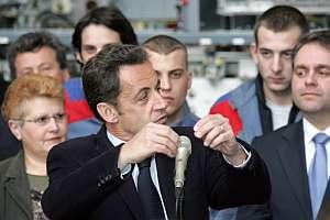 El presidente de Francia, Nicolas Sarkozy (Foto: AFP)