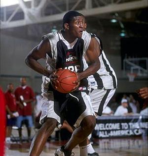 Marvin Stone, durante un partido.