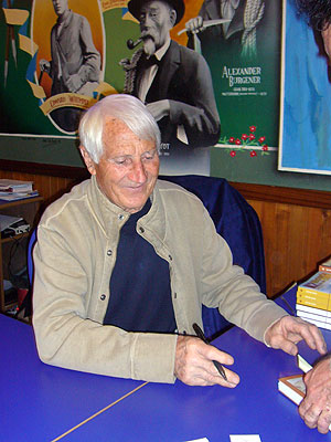 Walter Bonatti, en Madrid.