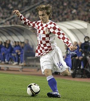 Luka Modric, con la camiseta de la selección croata. (Foto: AP)