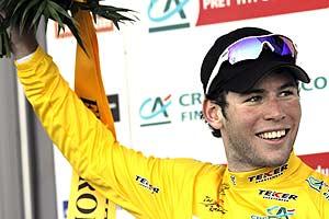 Cavendish celebra el triunfo de la etapa. (Foto: AP)