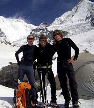 Iñaki Ochoa, en el campo base del Annapurna. (Foto: EFE)