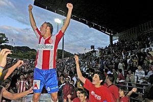 Sueño hecho realidad en Girona. (Foto: EFE)