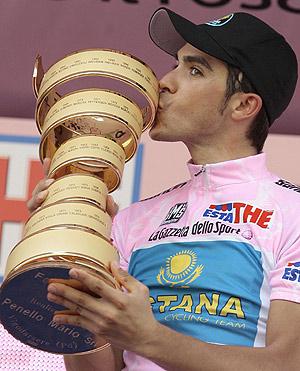 Alberto Contador, ausente en el presente Tour, competirá en los Juegos. (Foto: REUTERS)