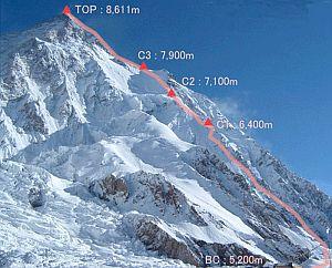 El K2. (Foto: EFE)