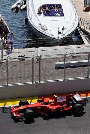 Felipe Massa, durante el GP de Europa. (Foto: Reuters)