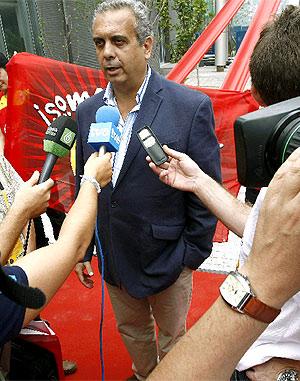 José Luis Sáez, poco antes de comenzar los Juegos. (Foto: EFE)