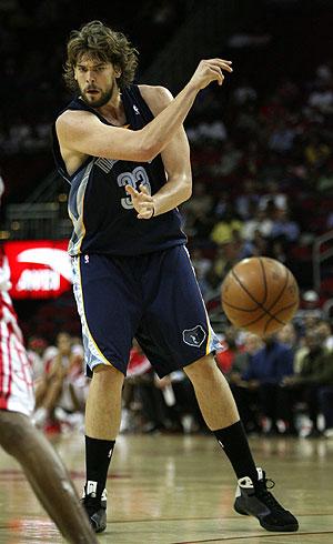Marc Gasol será titular en los Grizzlies. (Foto: EFE)