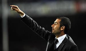 Pep Guardiola. (Foto: AP)