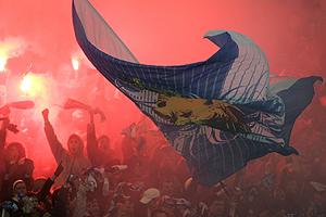 Aficionados del Zenit. (Foto: AP)