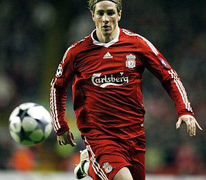 Torres, en el partido ante el Olympique de Marsella. (Foto: AFP)
