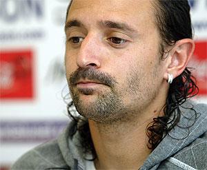 Jesuli, ex jugador de tenerife, Real Sociedad y Sevilla. (J. MUÑOZ)