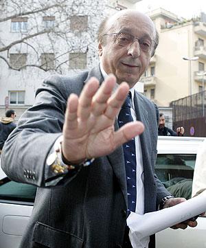 Luciano Moggi, eje del último gran escándalo en Italia. (Foto: REUTERS)
