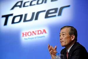 El presidente de Honda, Takeo Fukui. (Foto: EFE)