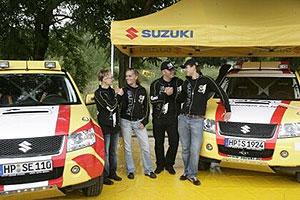 Suzuki, en el pasado Mundial de Rallys. (Foto: EFE)