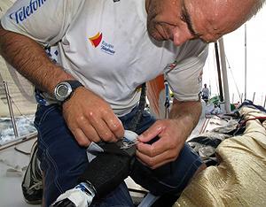 El Telefónica Azul continúa líder en la Volvo Ocean Race. (Foto: Equipo Telefónica)